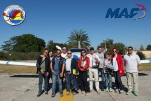 Volo raccolta fondi MAF 03 05 2015